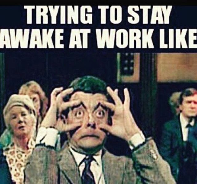 122 best Work Sayings images on Pinterest Work sayings, Funny - how to stay awake at work