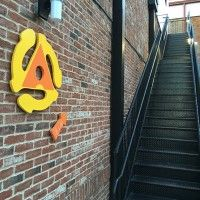 Back Stairwell, Arcadia, Little Five Points l5P, Atlanta