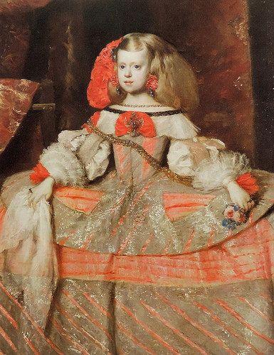 Diego Velázquez (Sevilla, 1599 - Madrid, 1660) y taller. La infanta Margarita Teresa   by Li Taipo