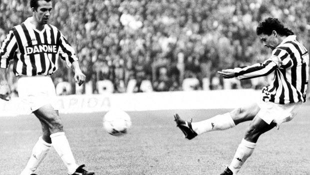 Roberto Baggio ai tempi della Juventus