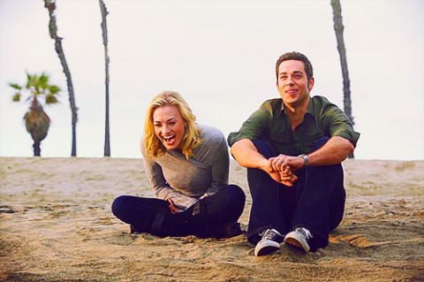Chuck - Sarah Walker and Chuck Bartowski aka Yvonne Strahovski and Zachary Levi