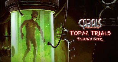 Topaz Trials week 2 News | Cabals: Magic & Battle Cards
