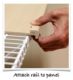 Easy Install Renew Shelf Covers For Wire Shelves