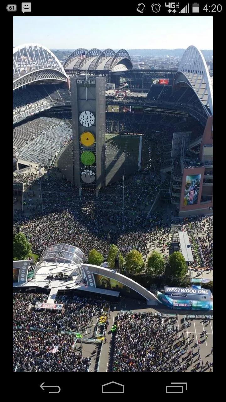 Seattle Seahawks getting ready to kick off the 2014 NFL season