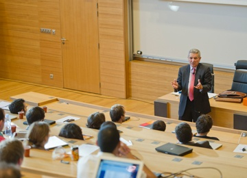 HEC Paris - News - Leading People: Making Good into Great, an MBA conference held by Bernard Bourigeaud