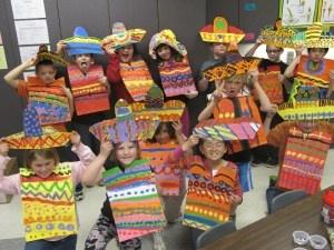 Sombreros and ponchos