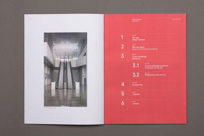 Design Museum Catalogue (Editorial) by Lo Siento Studio, Barcelona
