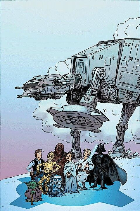 Star Wars by Sergio Aragones
