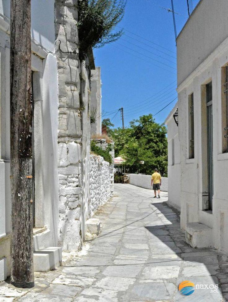 Enjoying a walk at Apeiranthos, a mountainous traditional village of Naxos island, Greece. http://tinyurl.com/oexf3zv
