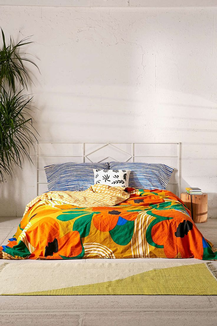 Lova Mod Floral Duvet Cover - Urban Outfitters