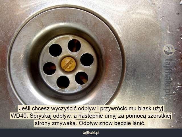 Jak czyścić odpływ? - Jeśli chcesz wyczyścić odpływ i przywrócić mu blask…