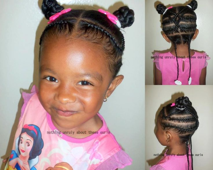 Cute Natural Hairstyles for Kids!