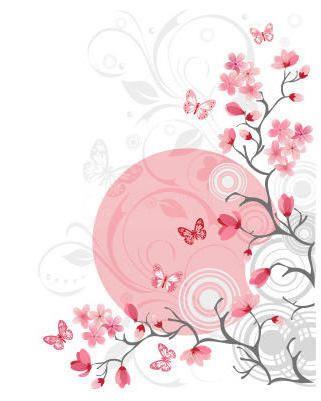 Оригинал схемы вышивки «Весна»