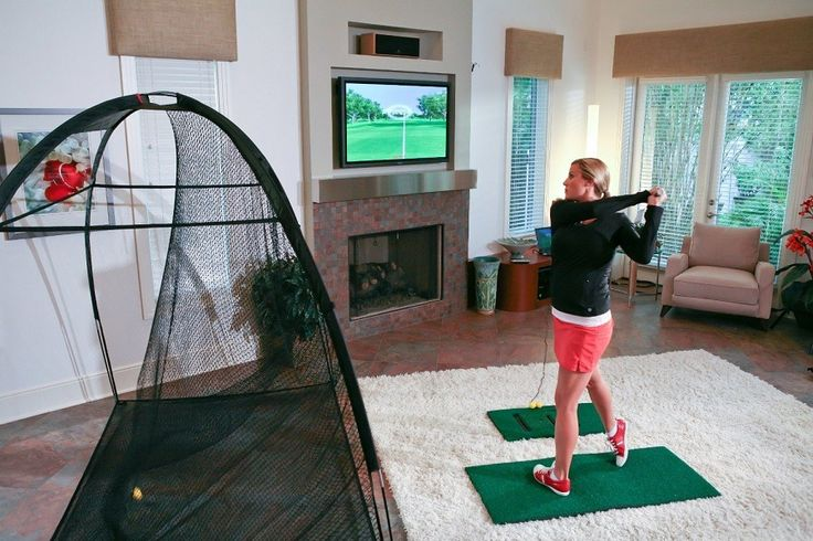 Are you in search of a reasonably priced #golf #simulator? Here's our review for the #OptiShot 2 Golf Simulator. Now you can practice even in #winter on your game. #workout #style #girl