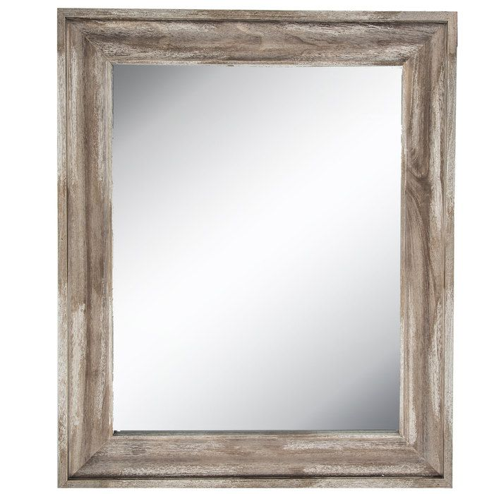 Get Reclaimed Driftwood Beveled Wall Mirror online or find other Wall Mirrors products from HobbyLobby.com