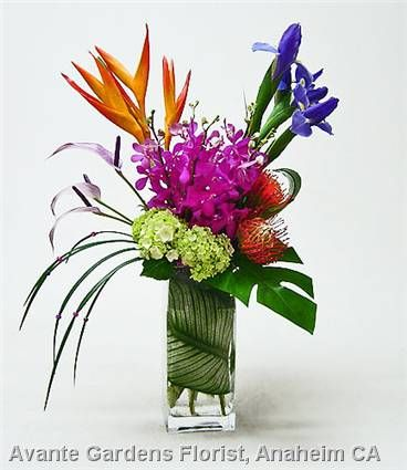 Small Tropical Flower Arrangements Google Search