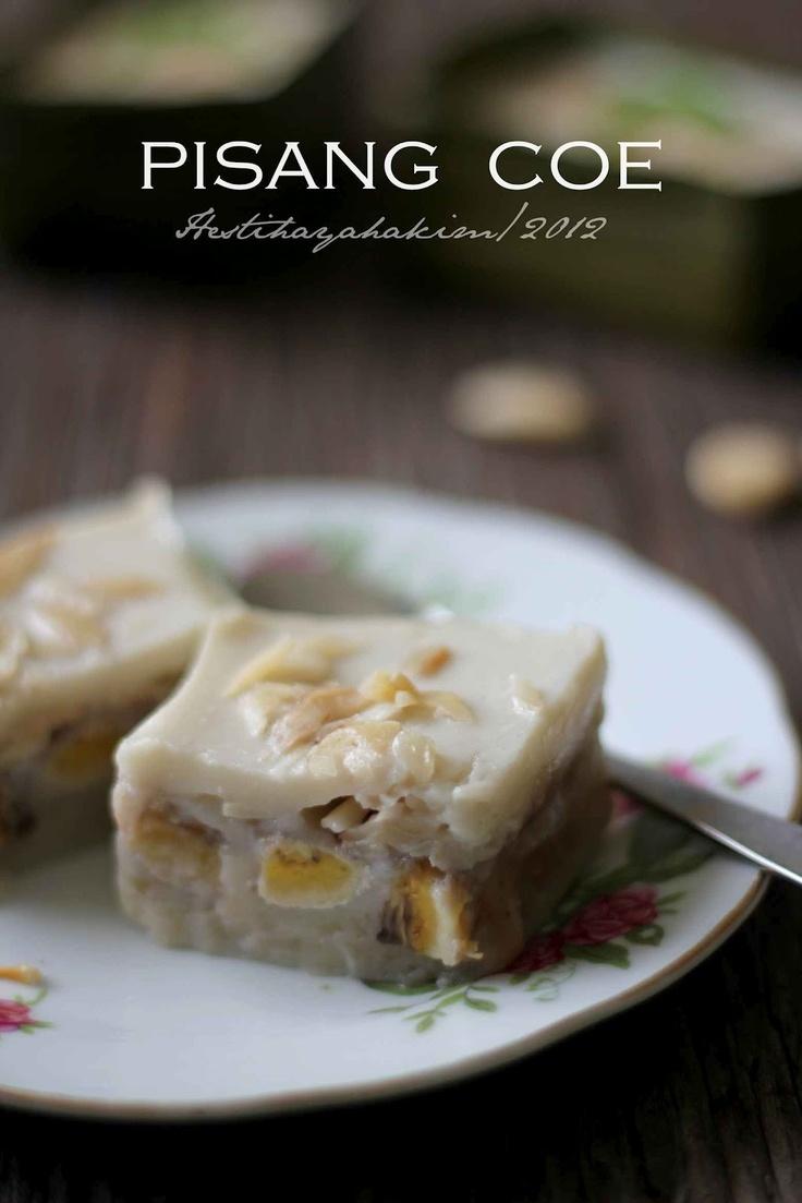 HESTI'S KITCHEN : yummy for your tummy...: Pisang Coe Ternate