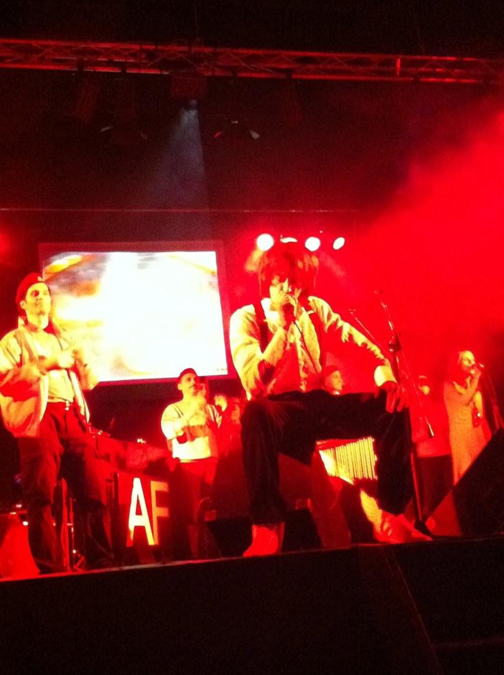 sul palco con i City Angels