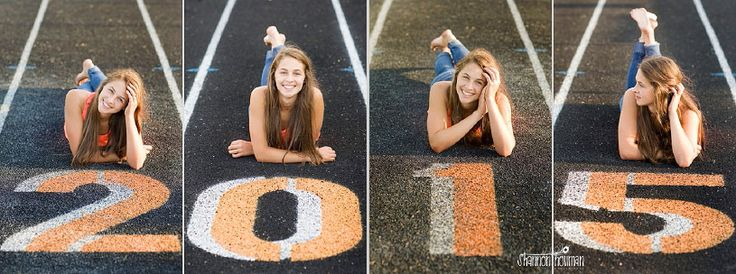 fun idea for senior track pictures...