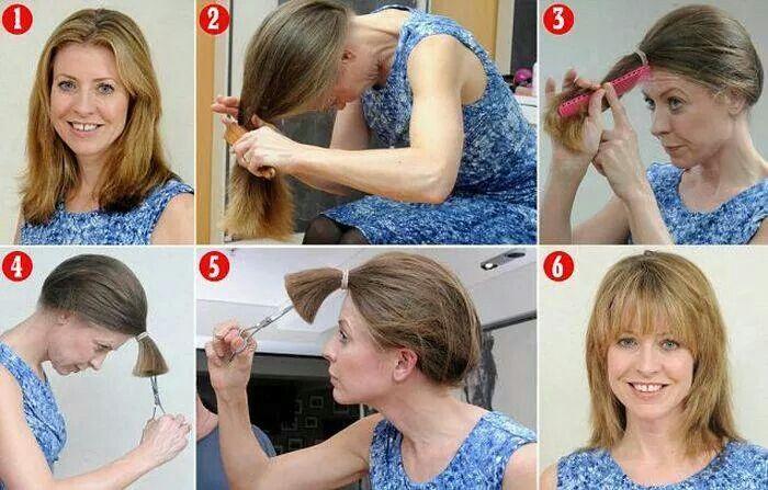 selbst haare schneiden :) :)   haare selber schneiden