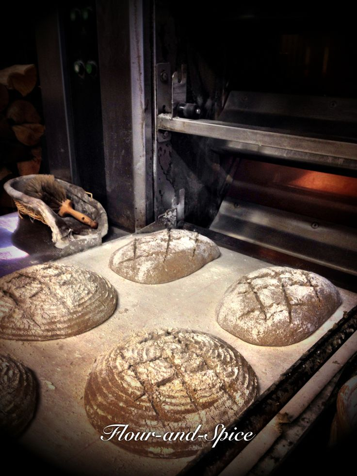 I was priviledged to spend a day following artisan bakers making their product you can see more pics on my https://www.facebook.com/pages/Flour-and-Spice/353487104744976 about my Boulangerie trail in France http://flourandspiceblog.wordpress.com