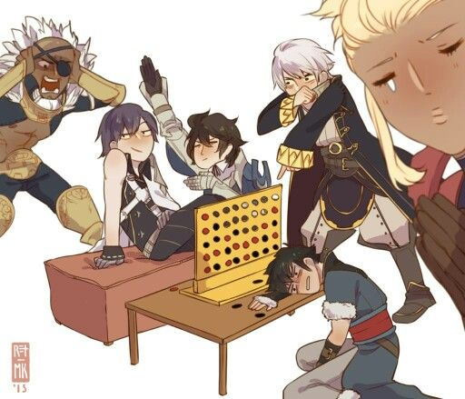 There is NO friendship in the game Connect 4, hearts are broken and lifes are lost. All in all it's a very serious game.