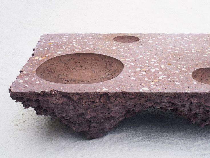 Galeria de Studio Ossidiana funde e texturiza o concreto para representar os jardins persas - 19