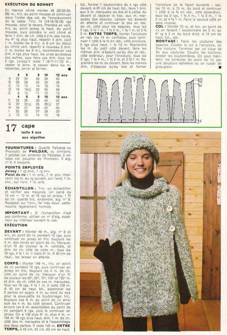 Mejores 36 imágenes de trico en Pinterest | Dos agujas, Patrones de ...