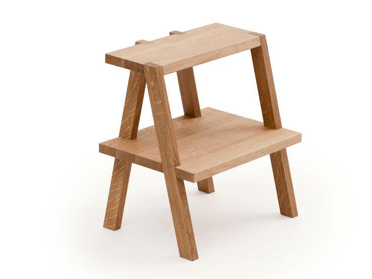 """Auerberg Aeki Reloaded - Gelegentlich lassen sich Möbelhersteller wie IKEA von den Entwürfen kleiner Hersteller """"inspirieren"""". Bei uns lief es umgekehrt: Gerhardt Kellermann hat sich beim Einrichten seines ersten/eigenen Studios vom Tritthocker BEKVÄM inspirieren lassen, mit dem klaren Vorsatz, es besser zu machen."""