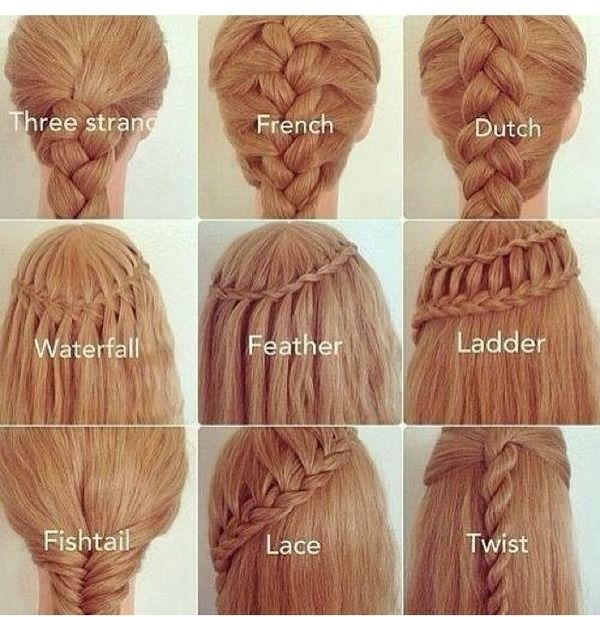 Love these braided styles...braiding is one of oldest hair manipulations recorded!