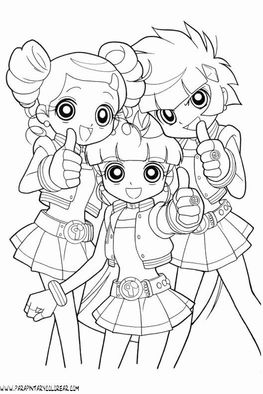 990 besten Colouring Pages For Girls Bilder auf Pinterest | Anime ...