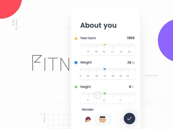 My Fitness App - Onboarding