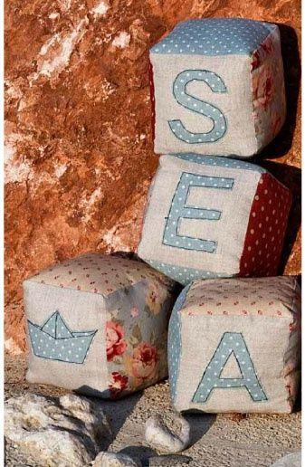 Морская тема в игрушках и аксессуарах от Франчески Оглиари / Детская комната / Своими руками - выкройки, переделка одежды, декор интерьера своими руками - от ВТОРАЯ УЛИЦА