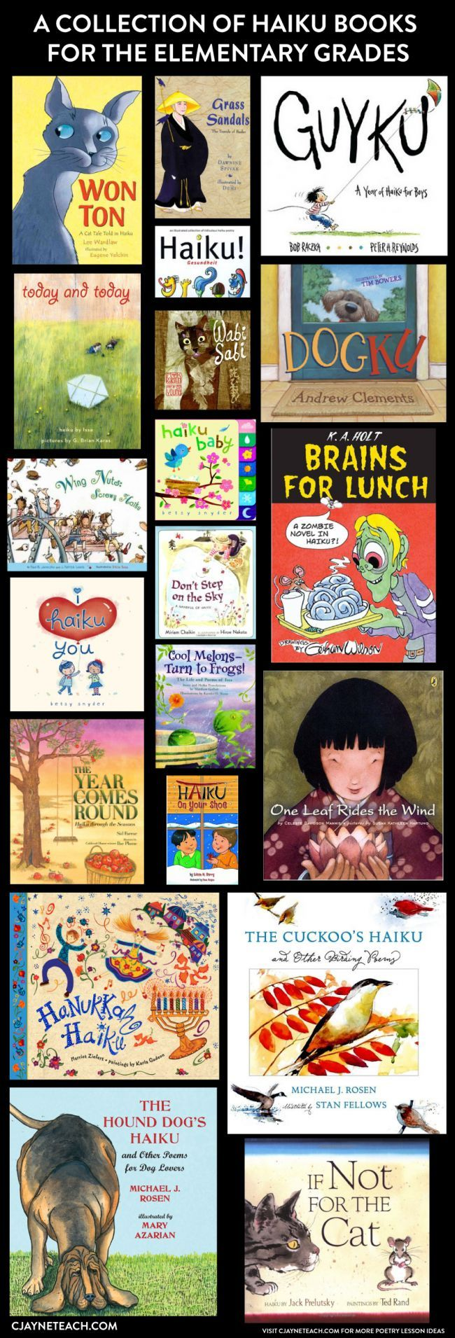 Haiku For Kids! Great Books To Have In Your Poetry Library