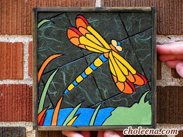Libellule - Art par Choleena