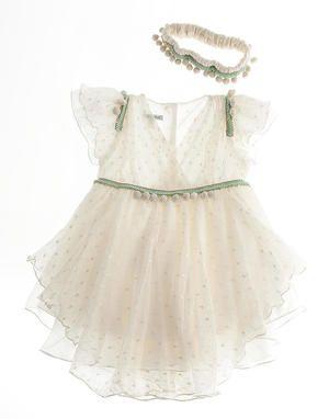 ΕΙΔΗ ΒΑΠΤΙΣΗΣ | Φορέματα 2014 | Μοντέρνο φόρεμα Pon Pon by Cat in the Hat