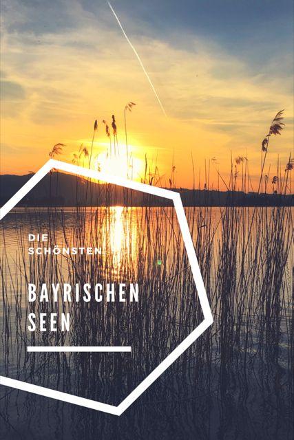 Die schönsten Seen in Bayern. Es gibt doch sicher viel mehr, in Sachen Seenliebe, als nur den Bodensee, Chiemsee und Tegernsee, oder? Bayrische Seen, echte Genussreisetipps