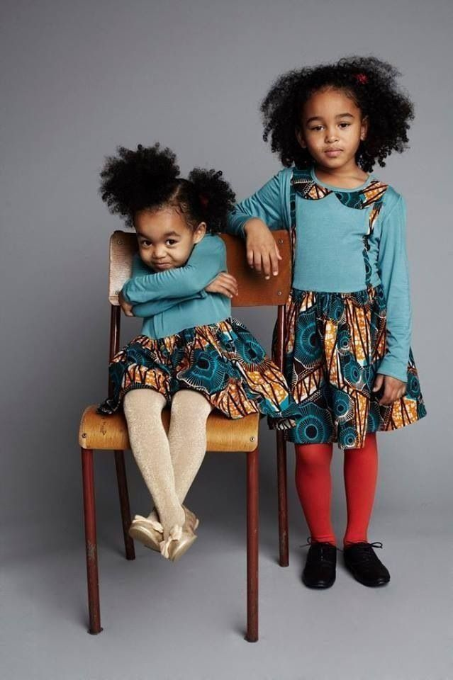 African Fashion African Cloth Children Afro Hairstyles