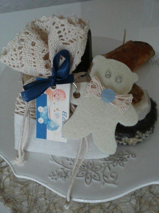 Portachiavi orso hand made
