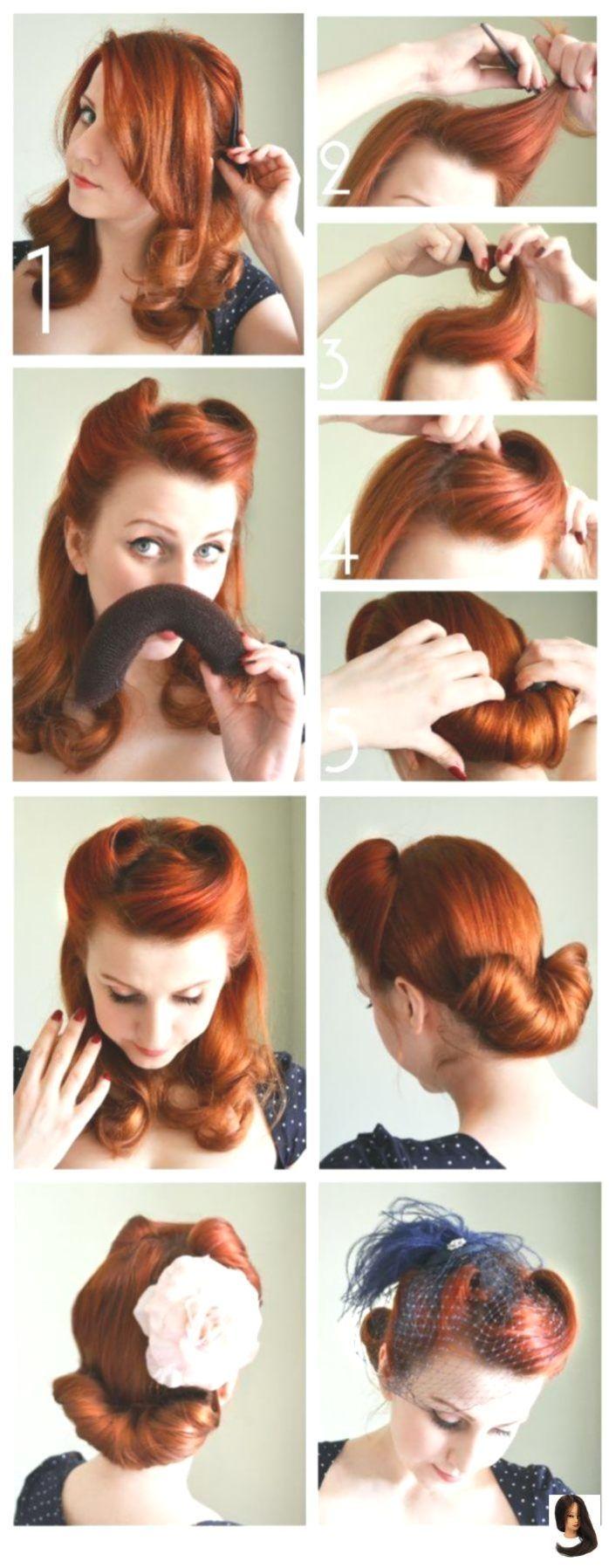 Hairstyles Vintage Die Rockabilly Frisur Durch Den Blick Der Modernen Frau Anleitungen Fur Rockige Frauen Rockabilly Frisur Retro Haar Vintage Hochsteckfrisur