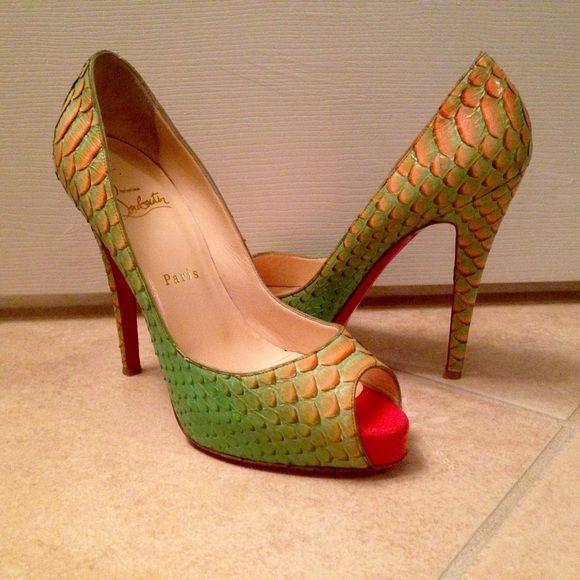 Creme de menthe fairytale Very Prive | Fairytale, Louboutin Shoes ...
