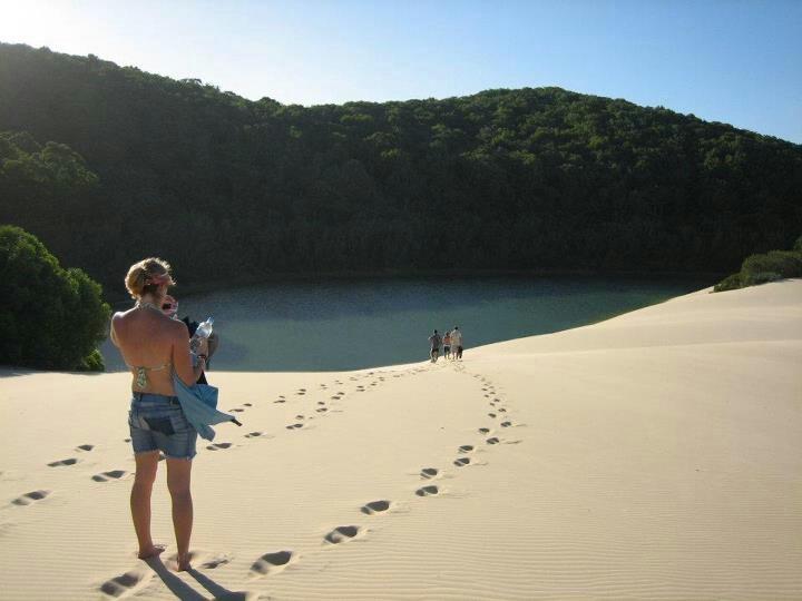 Fraser Island # lake wabby, Australië