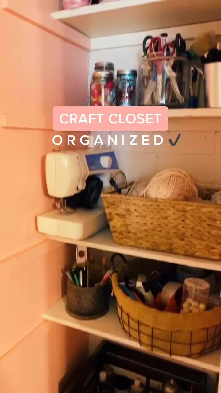 Wish Organizing Was This Quick Work Diy Paint Organization Craft Room