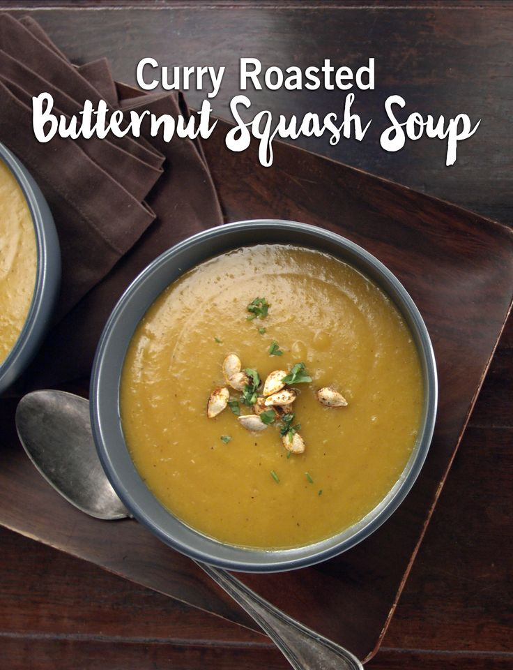 'Tis the season for soups! Warm up with this perfectly seasoned butternut squash recipe.