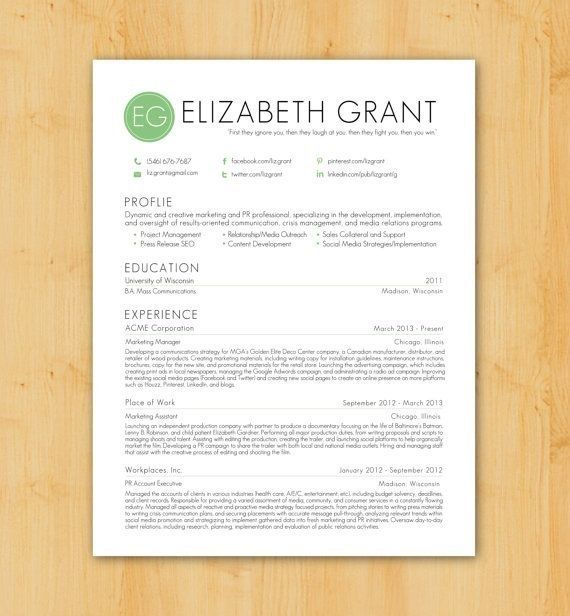 61 best Resumes designs images – Modern Resume Format