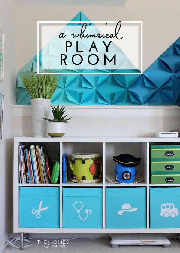 Our Fun And Functional Playroom Reveal. Boys Room IdeasKids RoomsToy  StorageStorage ... Part 72