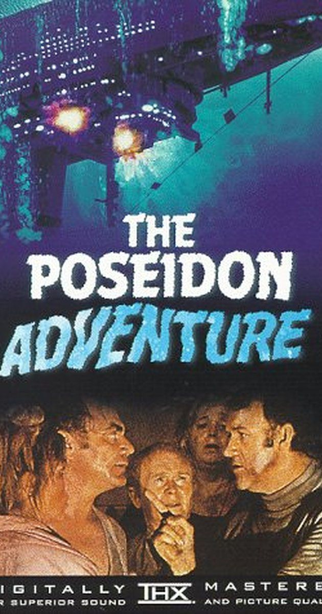 Directed by Ronald Neame, Irwin Allen.  With Gene Hackman, Ernest Borgnine, Shelley Winters, Red Buttons. A group of passengers struggle to survive and escape when their ocean liner completely capsizes at sea.