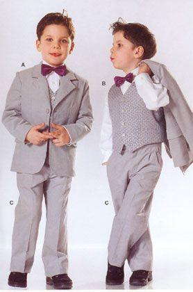 Лекало детского брючного костюма на мальчика 3 года