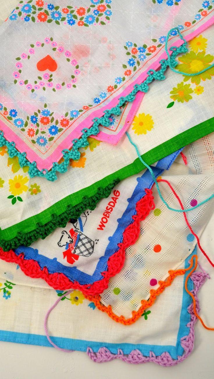 crochet tissu