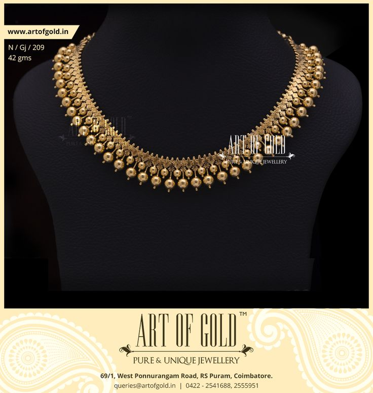 Traditional gold Gejje Addige from Art of Gold Jewellery.